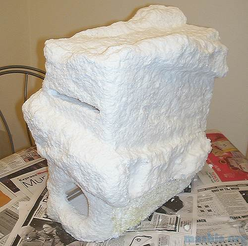 Paper Mache Asteroid - Pics about space